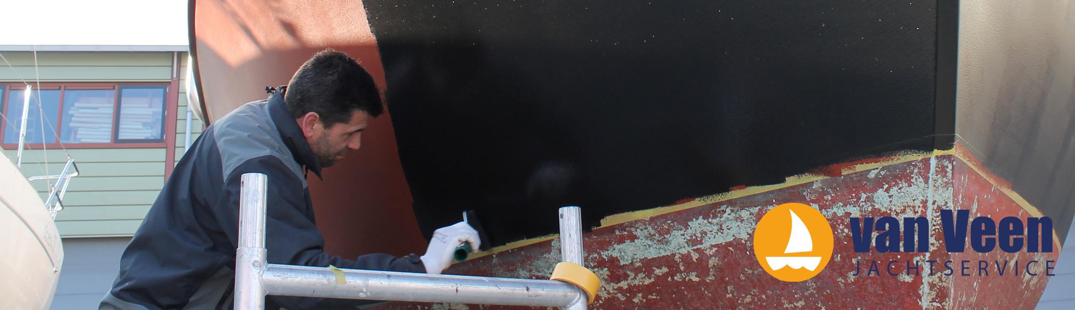jacht haven service van veen in scheveningen